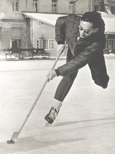 king with skate