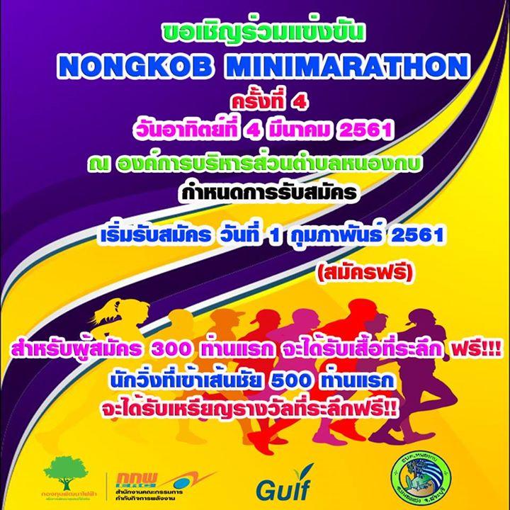 Nongkob Minimarathon ครั้งที่ 4