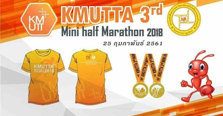 Kmutta 3rd Mini Half Marathon 2018