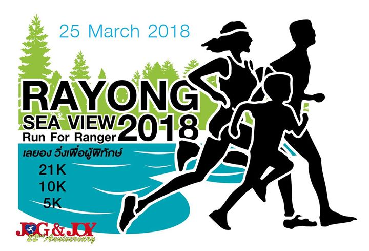 Rayong Sea View Run for Ranger 2018