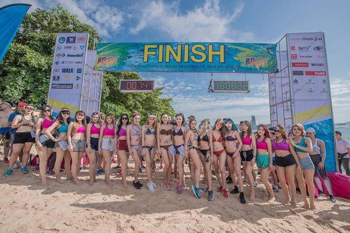 Centralfestival Bikini Beach Race 2018 By Singha