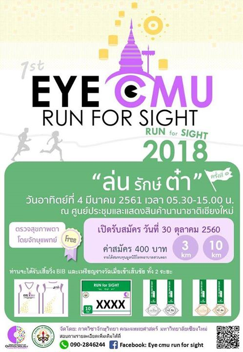 Eye Cmu Run for Sight 2018