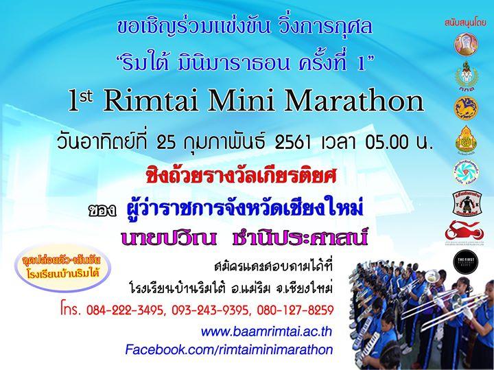 ริมใต้ มินิมาราธอน ครั้งที่ 1
